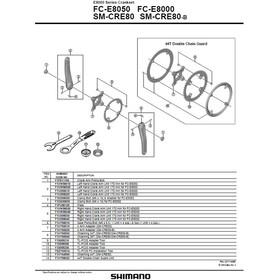 Shimano Steps FC-E8000 Pédalier